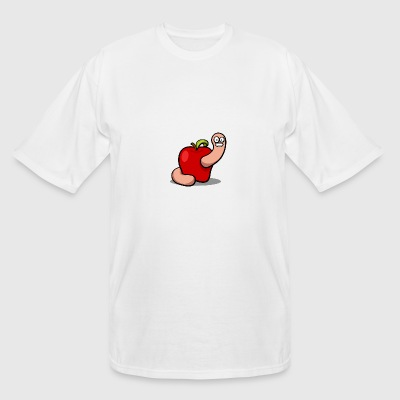WORM APPLE - Men's Tall T-Shirt