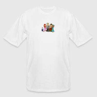 Horror Guy Family Guy Horror Parody - Men's Tall T-Shirt