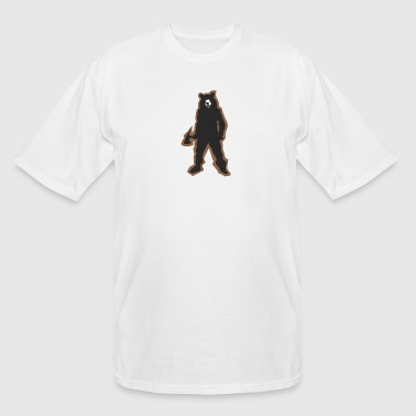 wild bear polar teddy bears brown grizzly panda ba - Men's Tall T-Shirt