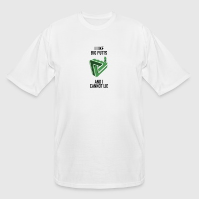 Putt - i like big putts and i cannot lie - Men's Tall T-Shirt