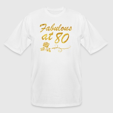 Fabulous at 80 years - Men's Tall T-Shirt