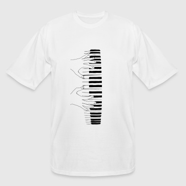 I am a Pianist - Men's Tall T-Shirt