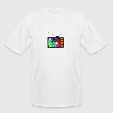 Lost in the Channels - Men's Tall T-Shirt
