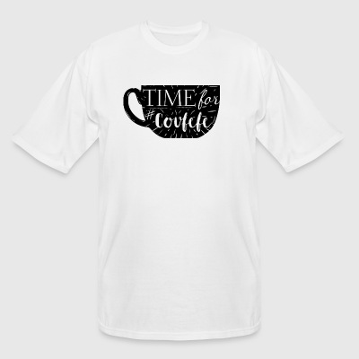 time for covfefe - Men's Tall T-Shirt