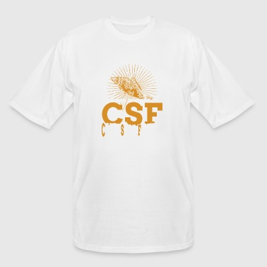 I Just Been Diagnosed With CSF Can't Stop Fishing - Men's Tall T-Shirt