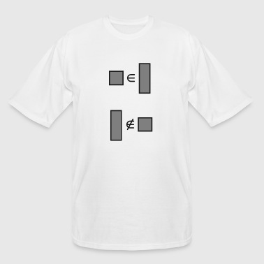 squares are rectangles - Men's Tall T-Shirt