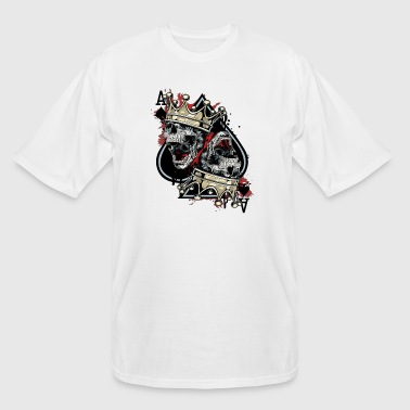 Skull and crown - Men's Tall T-Shirt