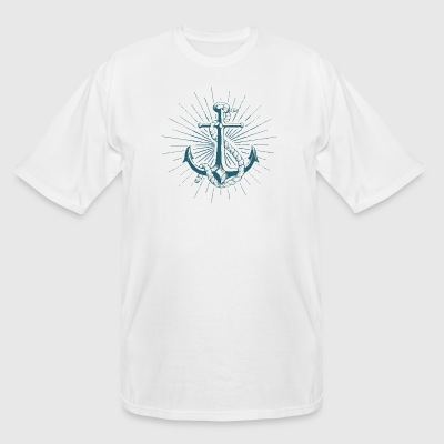 Anchor Rope - Men's Tall T-Shirt