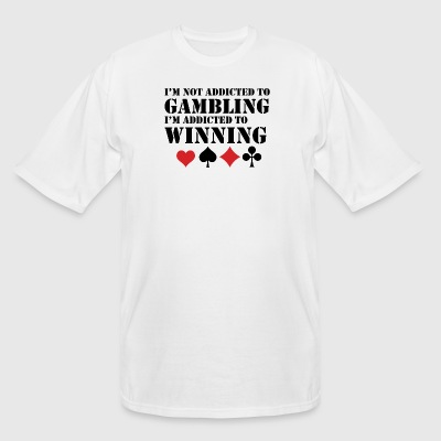 Addicted To Winning - Men's Tall T-Shirt
