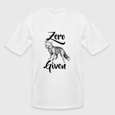 Fox - Zero Fox Given - Men's Tall T-Shirt