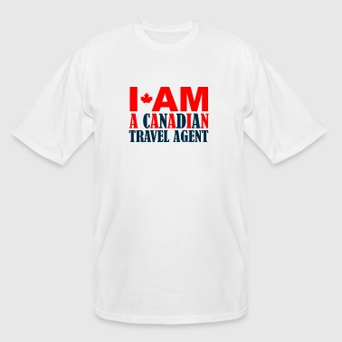 Travel night - i am a canadian travel night - Men's Tall T-Shirt