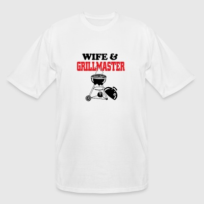 Grill master - wife and grill master - Men's Tall T-Shirt