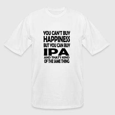 IPA - you can't buy happiness but you can buy IP - Men's Tall T-Shirt