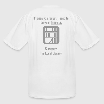 LIBRARY - Men's Tall T-Shirt
