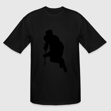 Hockey Player - Men's Tall T-Shirt