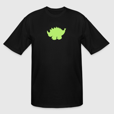dinosaur with a spiny back - Men's Tall T-Shirt