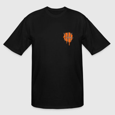 Basketball graffiti - Men's Tall T-Shirt
