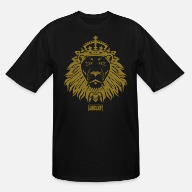 Rasta Chiller The King Lion - Men's Tall T-Shirt