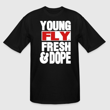 YOUNG FLY FRESH & DOPE - Men's Tall T-Shirt