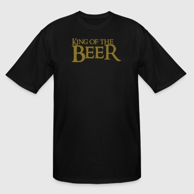 Beer King king of the beer - Men's Tall T-Shirt