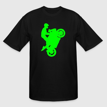 Streetbike Wheely - Men's Tall T-Shirt