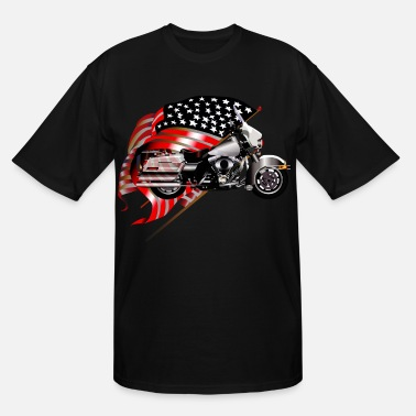 Patriot Patriotic - Men's Tall T-Shirt