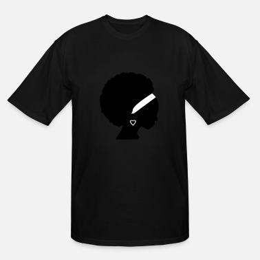 Afro afro - Men's Tall T-Shirt