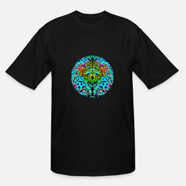 Sphere Psychedelic Sphere - Men's Tall T-Shirt