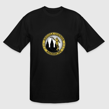 Angola Luanda Mission - LDS Mission Classic Seal - Men's Tall T-Shirt