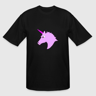 unicorn purple - Men's Tall T-Shirt