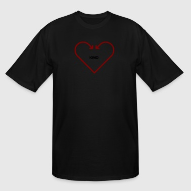 All Kind Love Love is Kind - Men's Tall T-Shirt