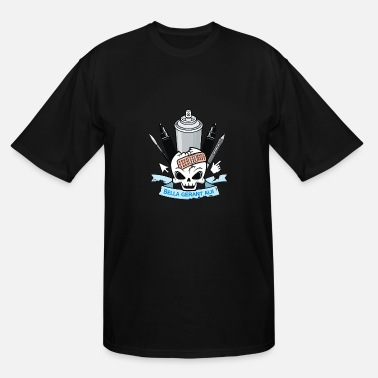 Emblem Skull Emblem - Men's Tall T-Shirt