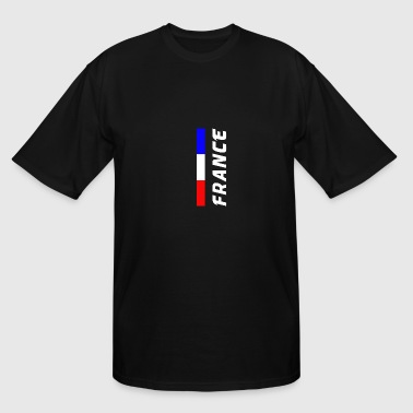 Strasbourg France Flag - Men's Tall T-Shirt