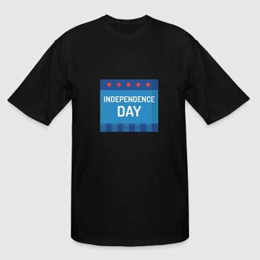 independence day - Men's Tall T-Shirt