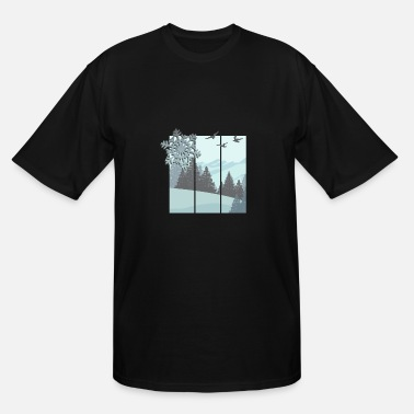 Winter winter - Men's Tall T-Shirt