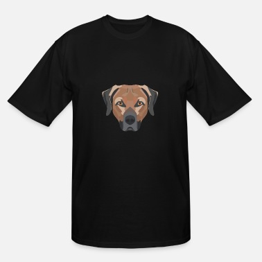 Cheeky Monkey Happy brown Labrador - Men's Tall T-Shirt