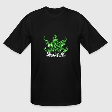 Stoner Girl high2 - Men's Tall T-Shirt