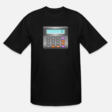 Calculator calculator - Men's Tall T-Shirt