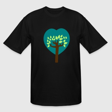 tree of lovers - Men's Tall T-Shirt