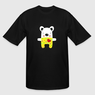 Cute Dog - Men's Tall T-Shirt