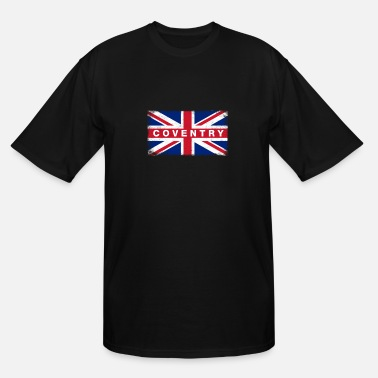Coventry Coventry Shirt Vintage United Kingdom Flag T-Shirt - Men's Tall T-Shirt