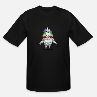 Gym Unicorns Gym Unicorn - Men's Tall T-Shirt