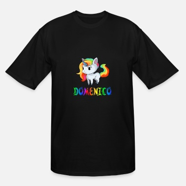 Domenico Domenico Unicorn - Men's Tall T-Shirt