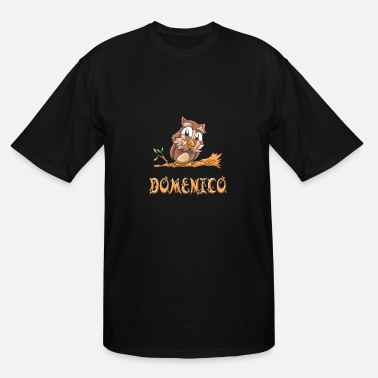 Domenico Domenico Owl - Men's Tall T-Shirt