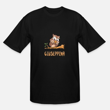 Giuseppina Giuseppina Owl - Men's Tall T-Shirt