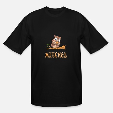Mitchell Mitchel Owl - Men's Tall T-Shirt