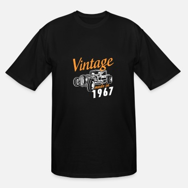 Vintage 1967 Vintage made in 1967 - Men's Tall T-Shirt