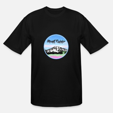 Mount Rainier Mount Rainier - Men's Tall T-Shirt