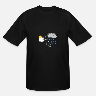 Rain Rain Rain Go Away - Men's Tall T-Shirt