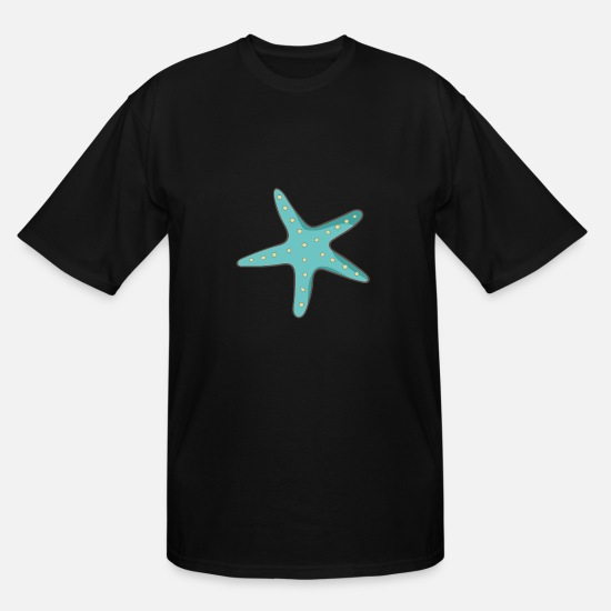 Starfish T-Shirts - starfish - Men's Tall T-Shirt black